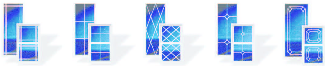 K&H Home Solutions provides several V-Groove Glass options