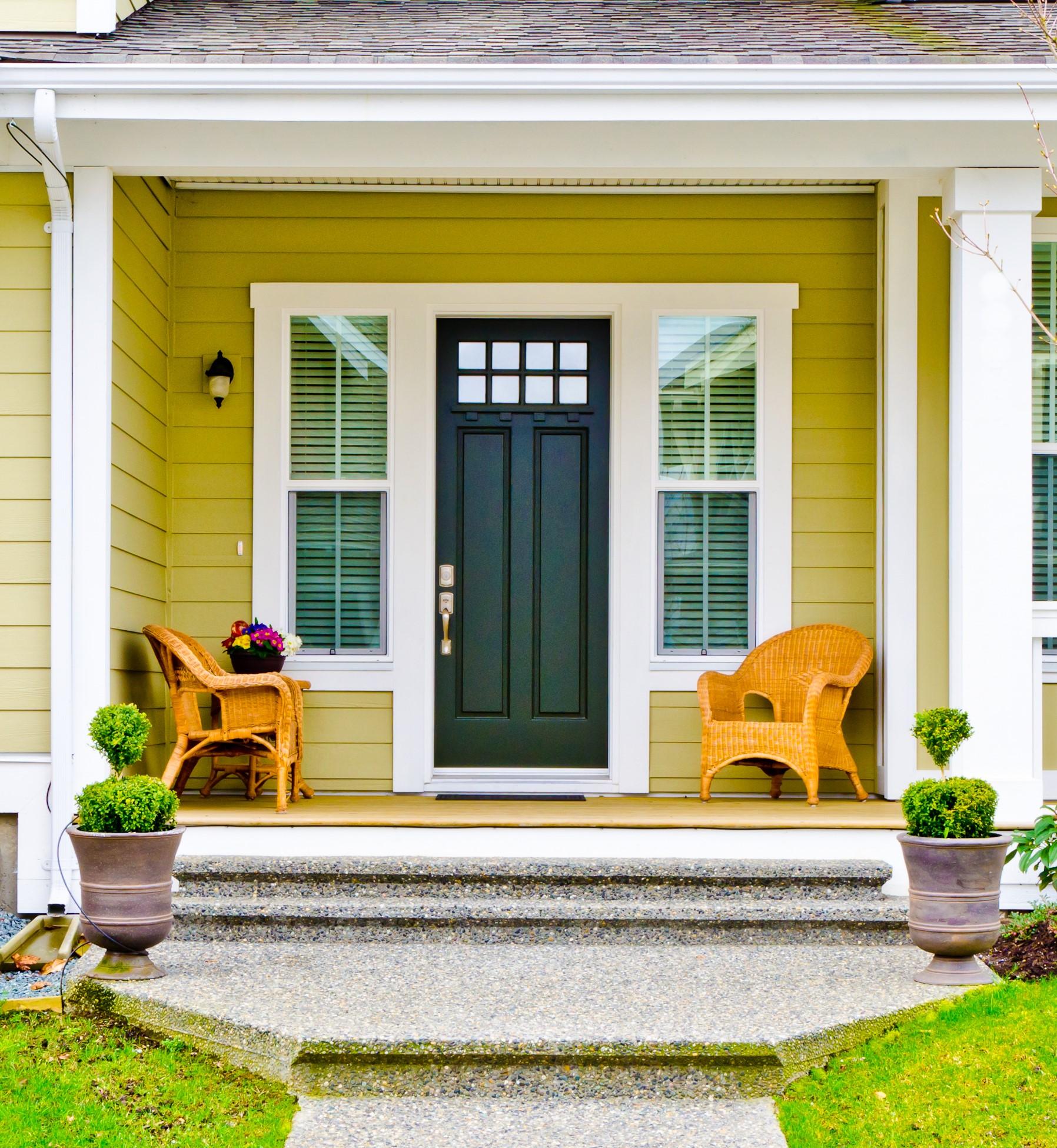 Fiberglass Vs Steel Entry Doors K H Home Solutions